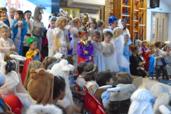 Year R Christmas Production 3