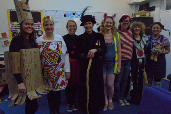 World Book Day Staff 2