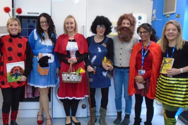 World Book Day Staff 4