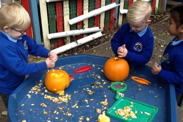 Year R Pumpkin Fun 2