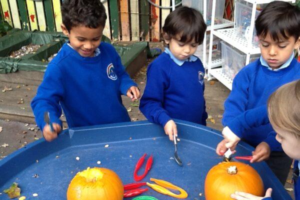 Year R Pumpkin Fun